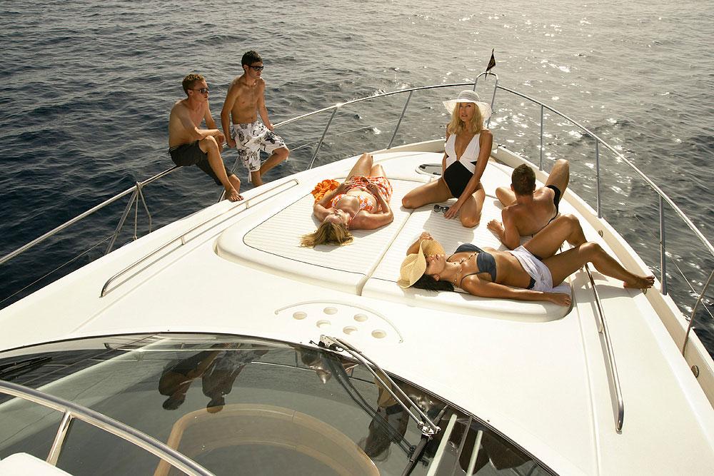 Luxury yacht in Israel