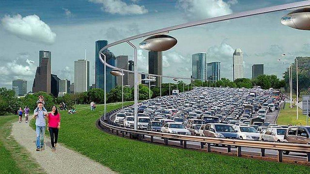 The sky tram