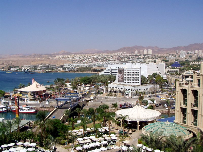 View of Eilat