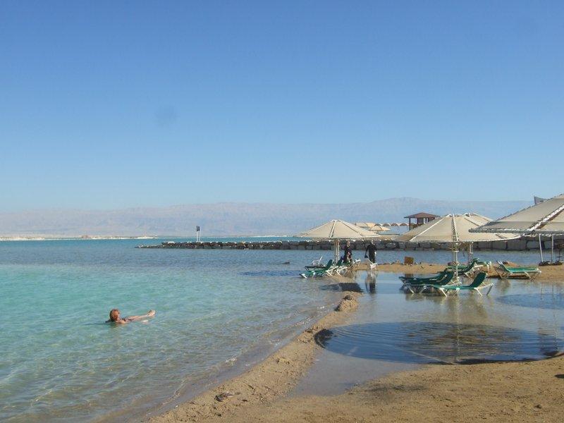 Ein Gedi beach