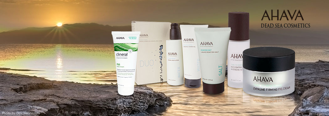 Authentic Dead Sea Skin Products from Israel