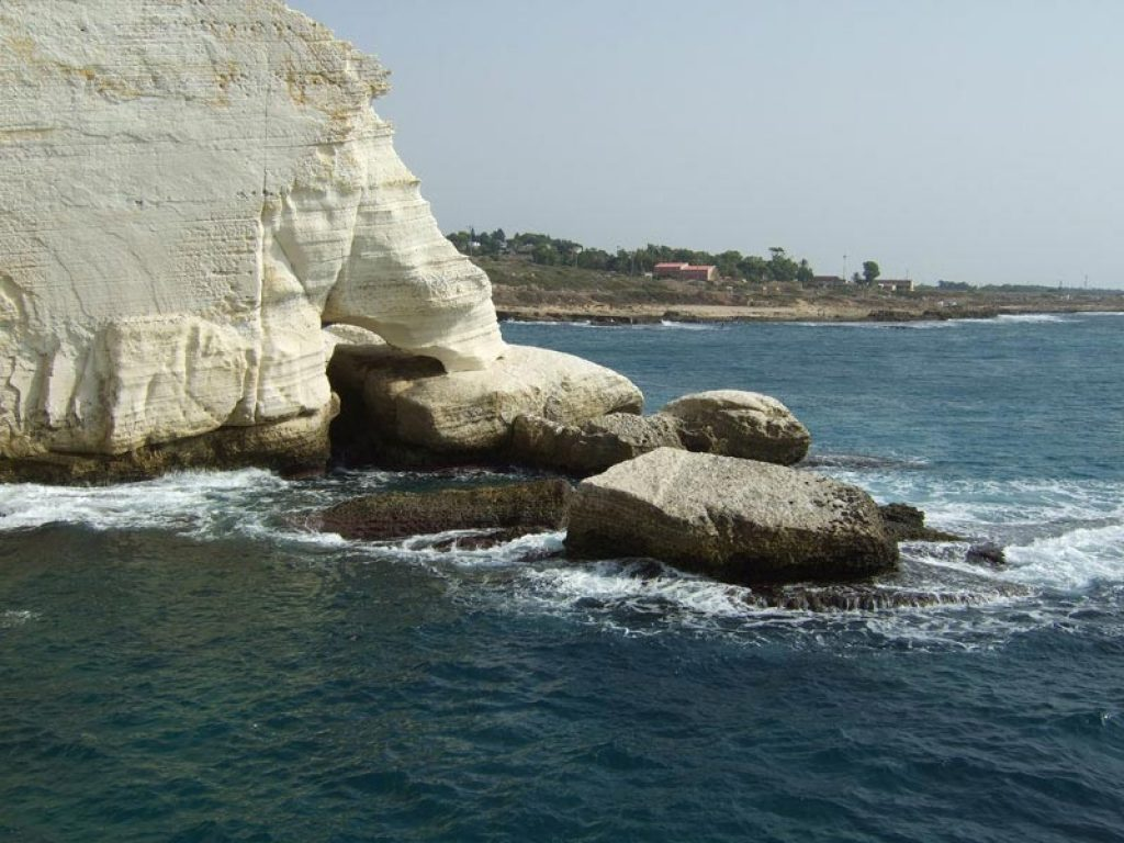 The white cliffs of Rosh HaNikra