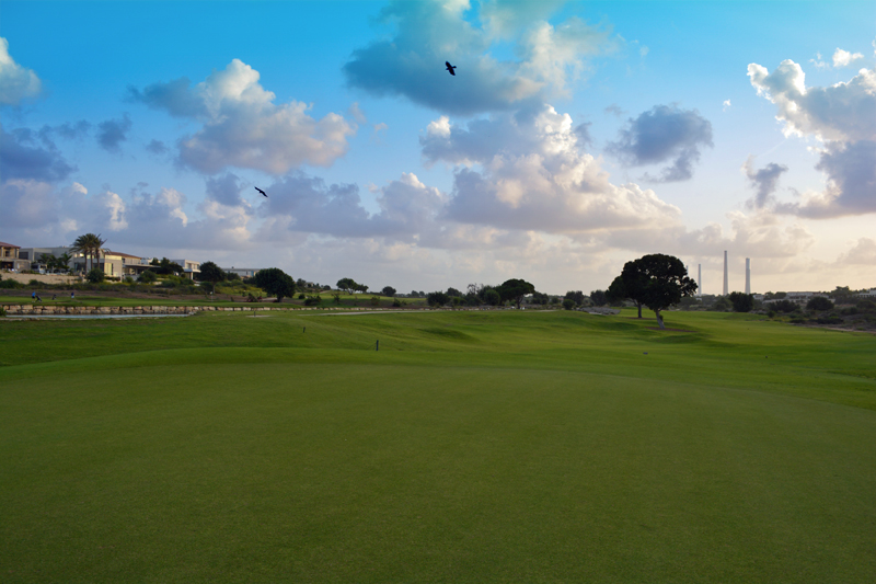 on the fairway at caesarea