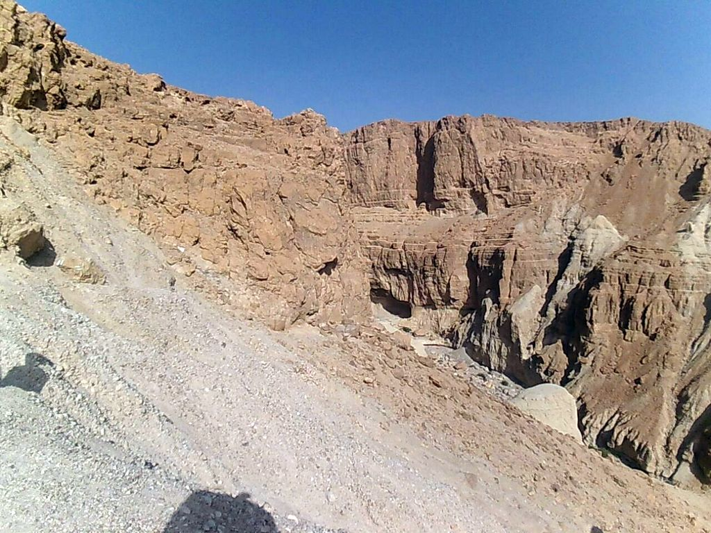 Rappelling in Nachal Rachaf - The Summit is in Sight