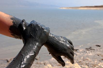 Dead Sea Israel - mud treatment