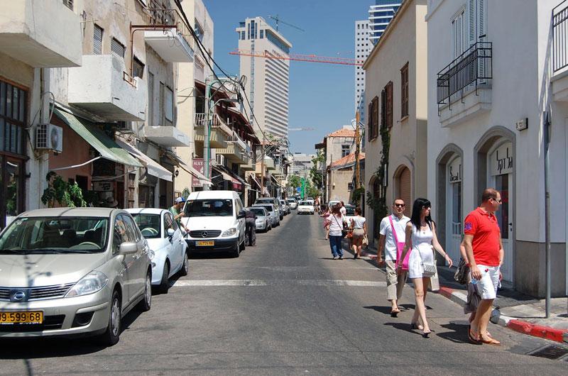 Bauhaus District in South Tel Aviv