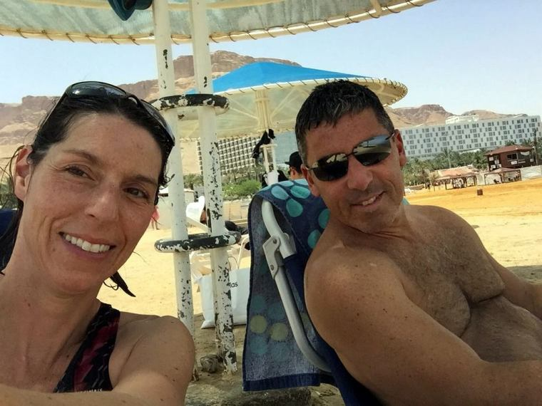Dead Sea - Ein bokek Beach