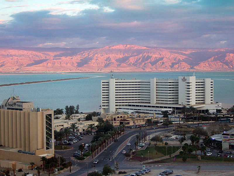 Ein Bokek resort at the Dead Sea
