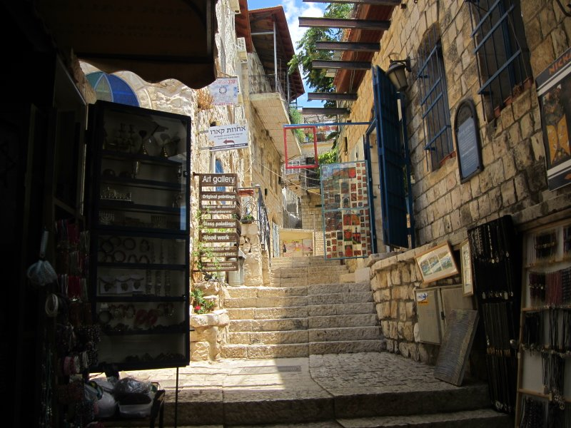 Tzefat – A Walking Tour