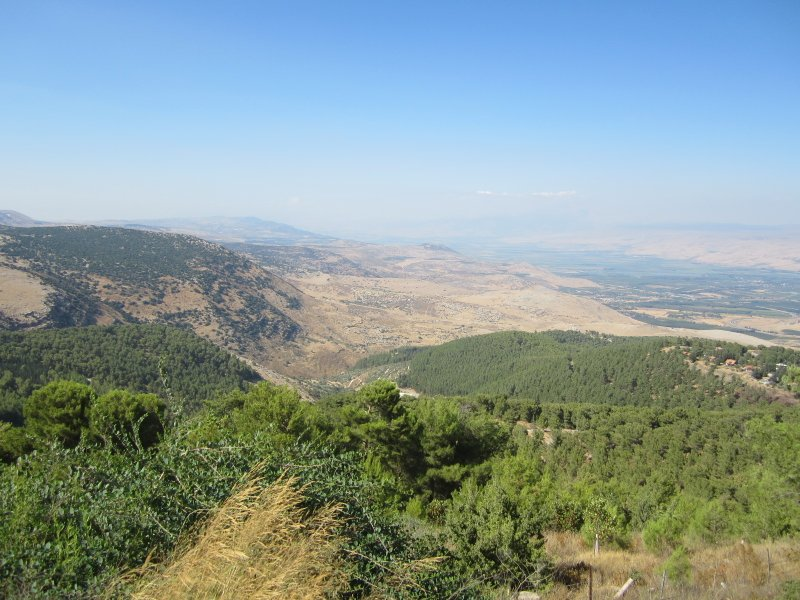 The View from Mount Yavnit